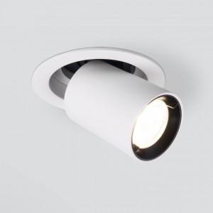 Встраиваемый светодиодный спот Elektrostandard 9917 LED 10W 4200K белый матовый 4690389161667