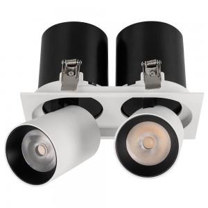 Встраиваемый светодиодный спот Arlight LGD-Pull-S100x200-2x10W White6000 026193